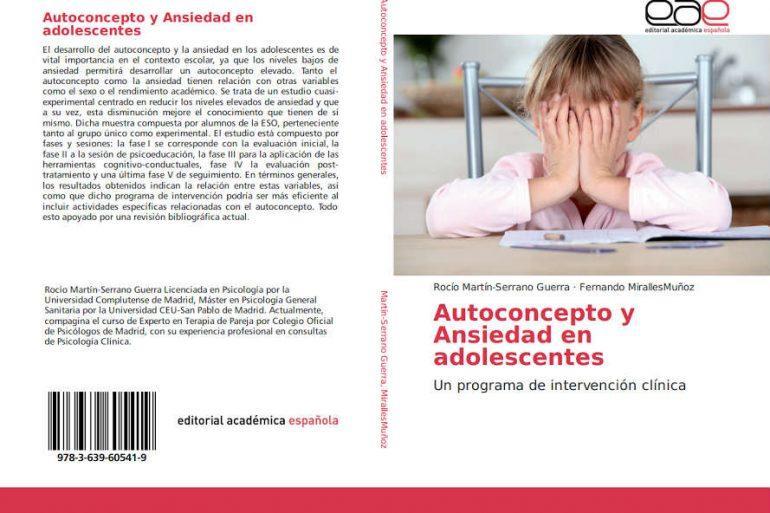 libro autoconcepto y ansiedad en adolescentes